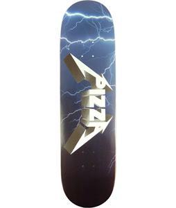 Pizza Metal Skateboard Deck