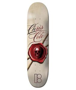 Plan B Cole Wax Seal Skateboard Deck