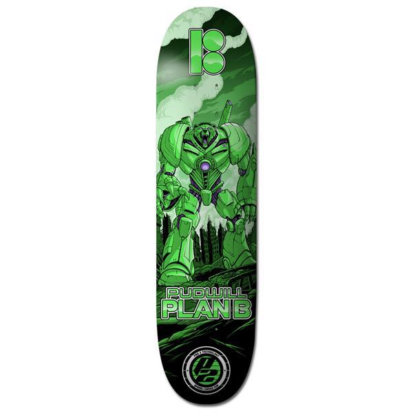 Plan B Pudwil Guardian Skateboard Deck