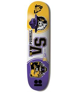 Plan B Pubwill Mascots Skateboard Deck 8.25 x 31.75in