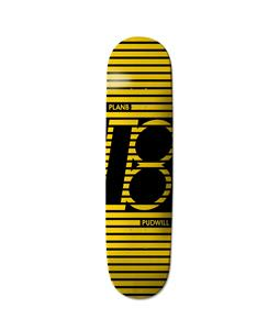 Plan B Pudwill Striped Skateboard Deck
