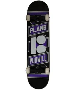 Plan B Pudwill Wrap Skateboard Complete