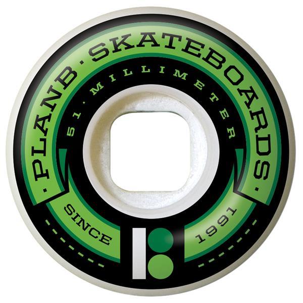 Plan B Team Banner 98A Skateboard Wheels