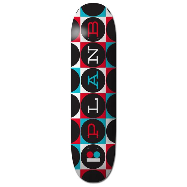 Plan B Team Modern Skateboard Deck