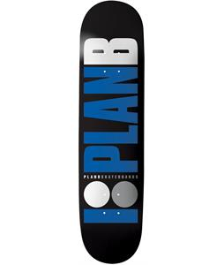 Plan B Team OG Skateboard Deck Black 8.25 x 31.75in