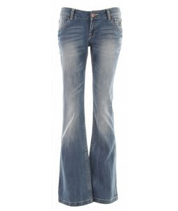 Planet Earth Boot Cut Stone Wash Jean