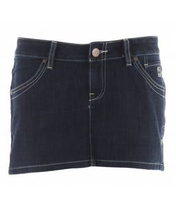 Planet Earth Jean Mini Skirt Indigo Wash