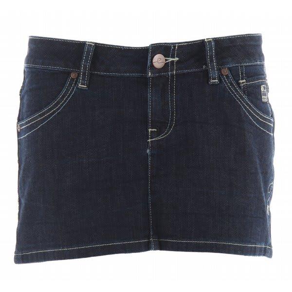 Planet Earth Jean Mini Skirt