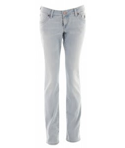 Planet Earth Skinny Cut Stone Wash Jean Light Indigo