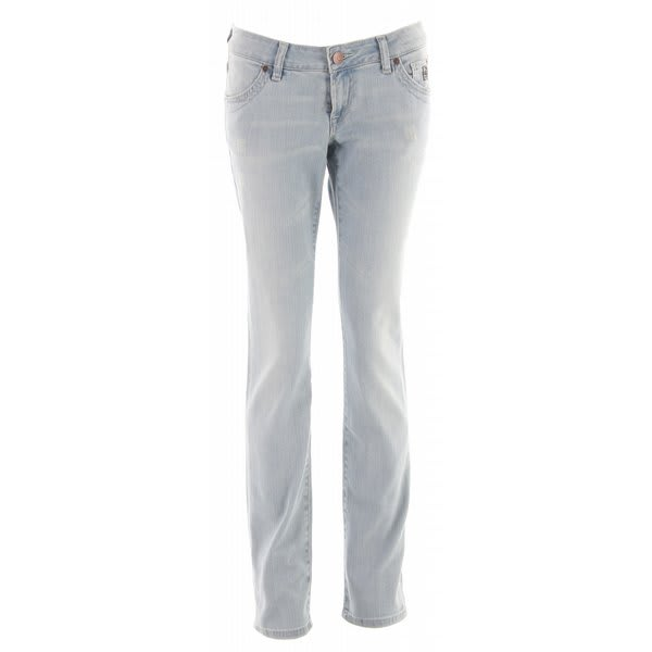 Planet Earth Skinny Cut Stone Wash Jeans