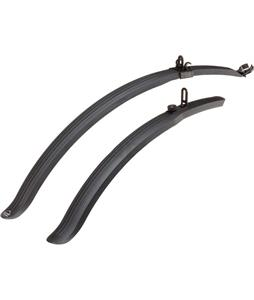 Planet Bike Clip-On Bike Fenders Black 700C