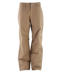 Planet Earth Upshot Insulated Snowboard Pants Kona Brown