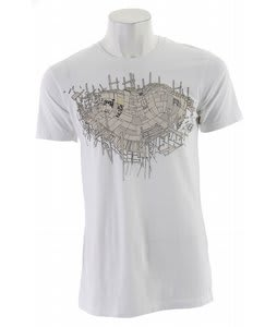 Planet Earth Adam Haynes S/S T-Shirt White