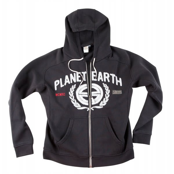 Planet Earth Applique Hoodie