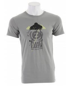 Planet Earth Bennett S/S T-Shirt Neutral Grey