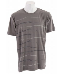 Planet Earth Benson S/S T-Shirt Charcoal
