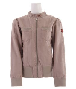 Planet Earth Chambray Snowboard Jacket Fossil Brown