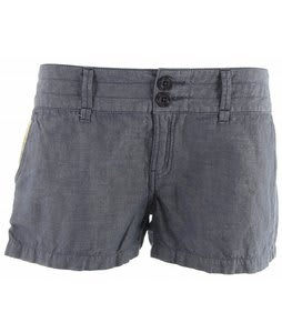 Planet Earth Chambray Shorts Dark Denim
