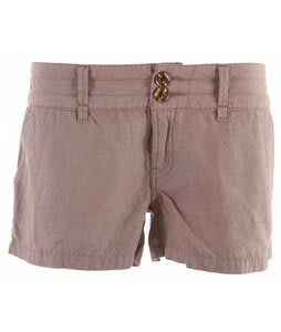 Planet Earth Chambray Shorts Fossil Brown