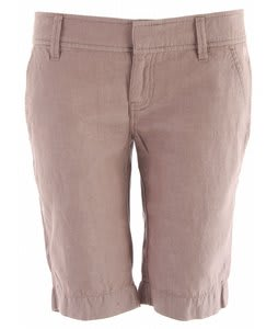 Planet Earth Chambray Long Shorts Fossil Brown