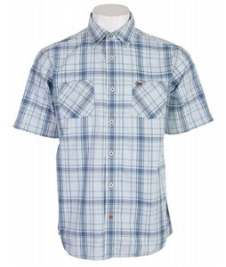 Planet Earth Collins S/S Shirt Pale Blue