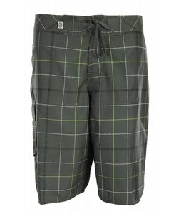 Planet Earth Crawford Boardshorts Faded Green