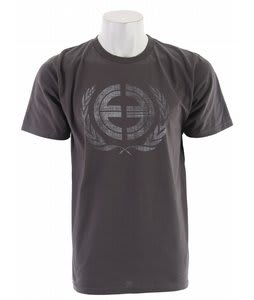 Planet Earth Crest T-Shirt Charcoal