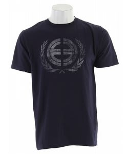 Planet Earth Crest T-Shirt Navy