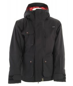 Planet Earth Dakota Insulated Snowboard Jacket Black