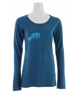 Planet Earth Elie L/S T-Shirt Morrocan Blue