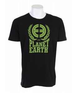 Planet Earth Fleming T-Shirt Black