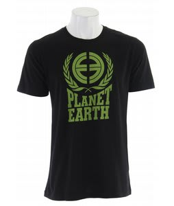 Planet Earth Fleming S/S T-Shirt Black