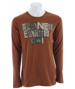 Planet Earth Foundry L/S T-Shirt Rust/Brown