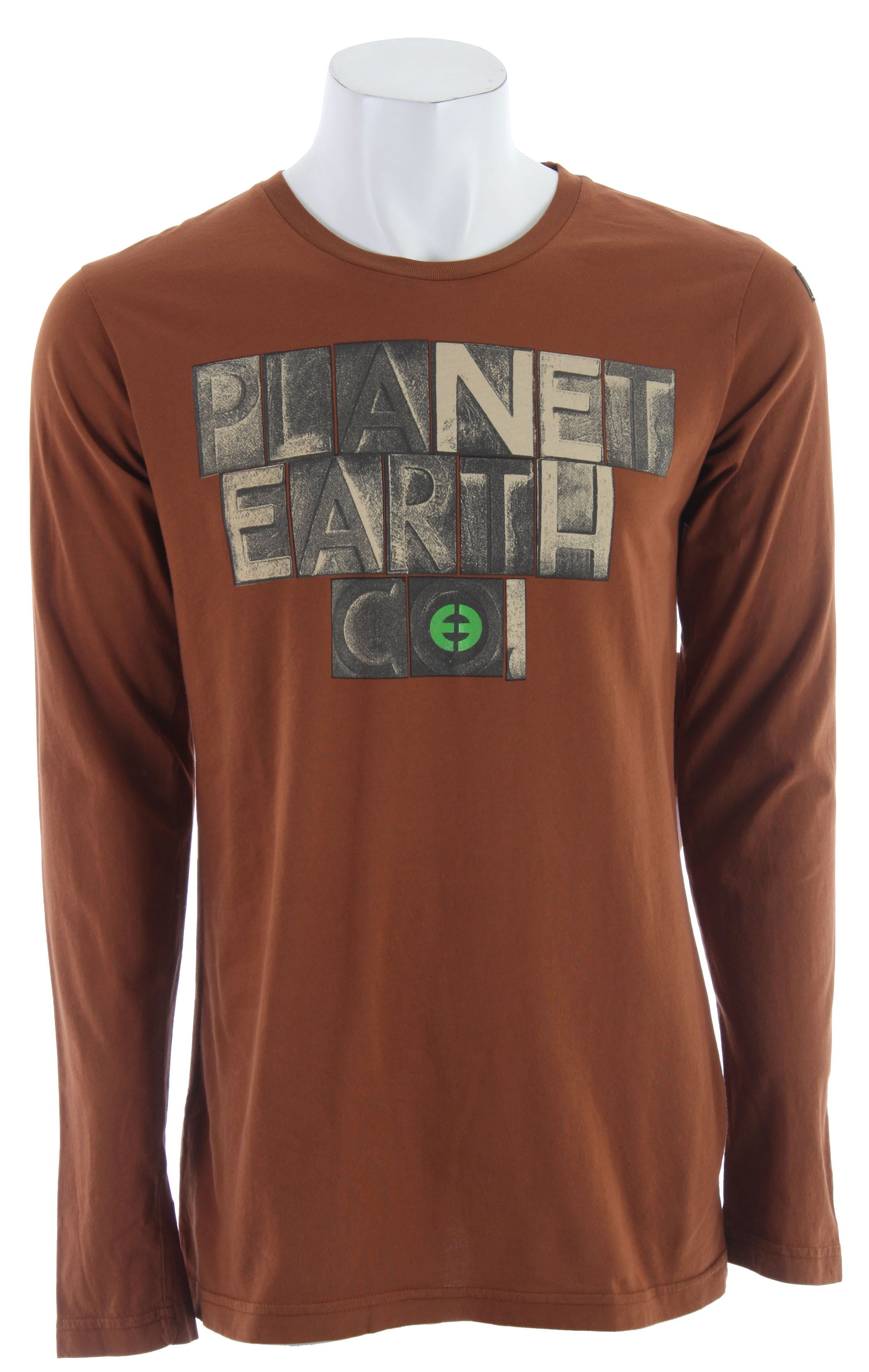 On sale planet earth foundry l s t shirt up to 70 off for Foundry men s polo shirts