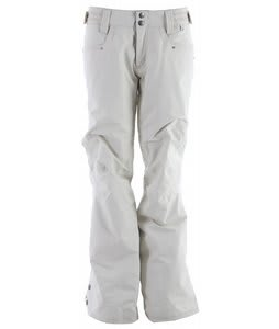 Planet Earth Freefall Insulated Snowboard Pants Celery White