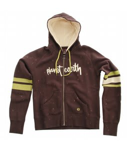 Planet Earth Fresh Hoodie Chocolate