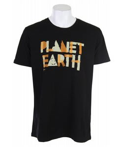 Planet Earth Harrison T-Shirt Black