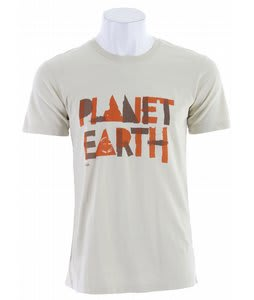 Planet Earth Harrison S/S T-Shirt Faded Khaki