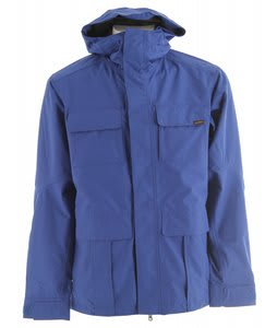 Planet Earth Lieutenant Snowboard Jacket Blue