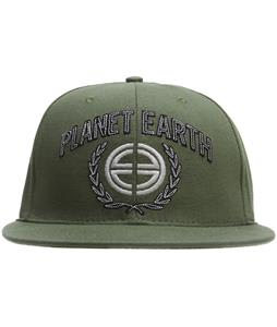 Planet Earth Logo Cap Olive