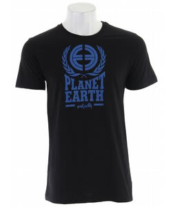 Planet Earth Logo S/S T-Shirt Black