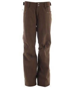 Planet Earth Lotus Snowboard Pants Breen Brown/Melange