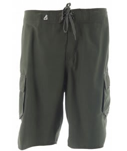 Planet Earth Marshall Boardshorts Dark Chive