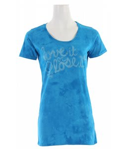 Planet Earth Morgan T-Shirt Deep Aqua