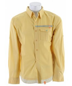 Planet Earth Morocco L/S Shirt Corn Silk Yellow