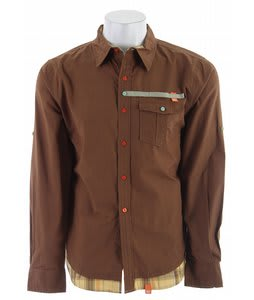 Planet Earth Morocco L/S Shirt Nutella Brown