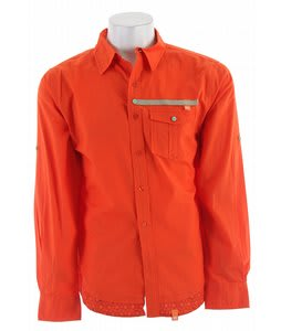 Planet Earth Morocco L/S Shirt Spicy Orange