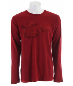 Planet Earth Muscat L/S T-Shirt Red