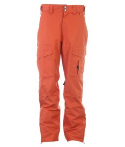 Planet Earth Outpost Snowboard Pants Heat Wave Orange
