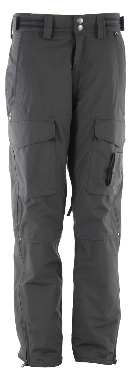 Planet Earth Outpost Insulated Snowboard Pants Swamp Green